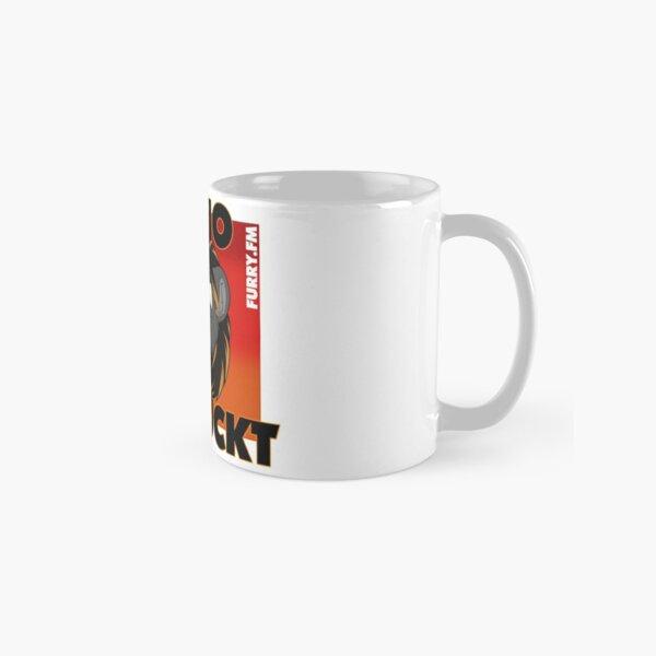 Radio verrückt Rot Tasse (Standard)