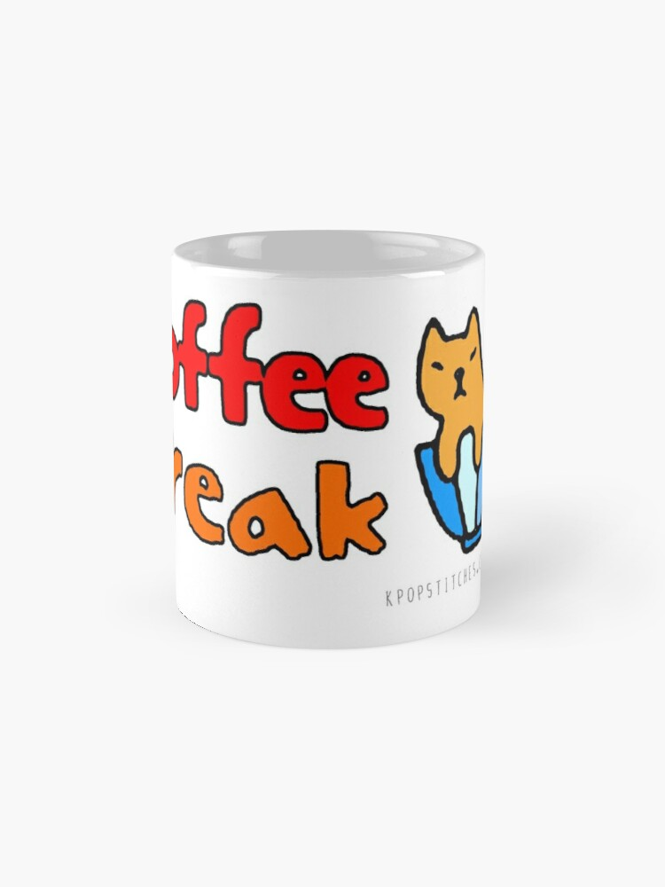 Alternate view of Time for a cat coffee break Mug