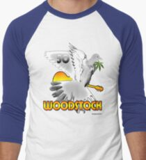 Woodstock 50 Men's Baseball ¾ T-Shirt