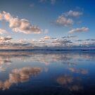 Light Blue Mirror Beach by Richard Horsfield