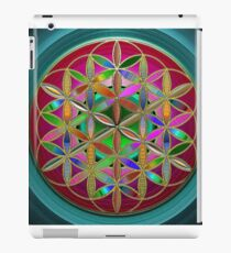 The Flower of Living Metal iPad Case/Skin