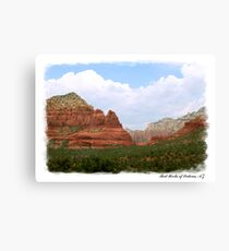 Red Rocks of Sedona Canvas Print