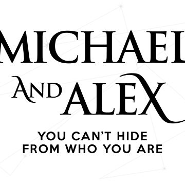 Roswell - Michael and Alex by BadCatDesigns
