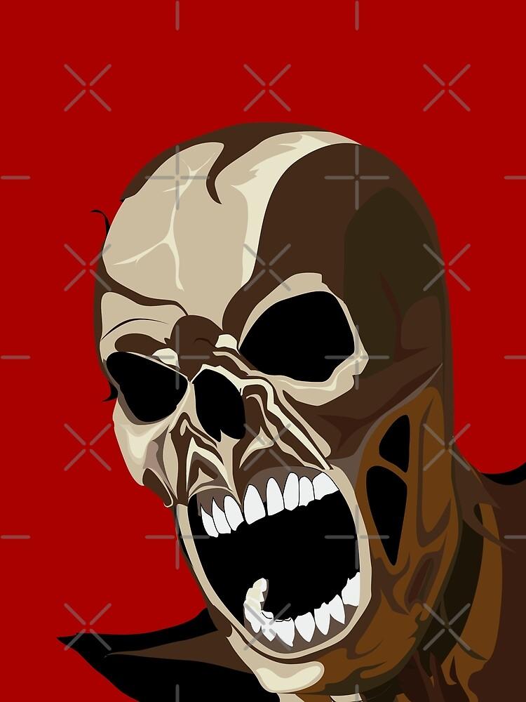 Screaming ZOMBIE von Exilant