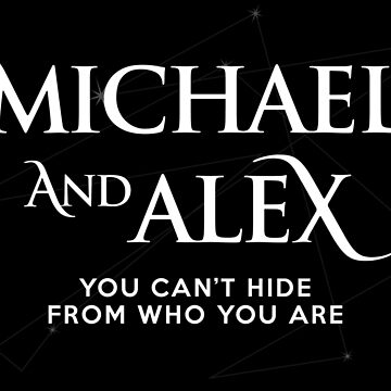 Roswell - Micheal and Alex by BadCatDesigns