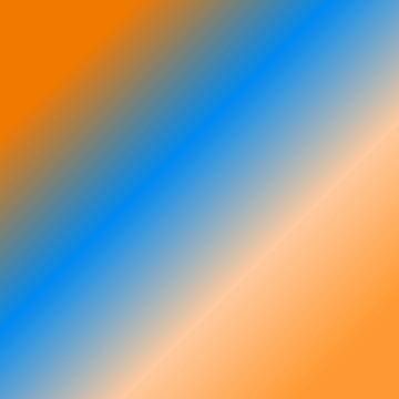 orange blue shades by MallsD