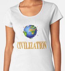 Gaming [Amiga] - Civilization Women's Premium T-Shirt
