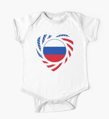 Russian American Multinational Patriot Flag Series 2.0 Kids Clothes