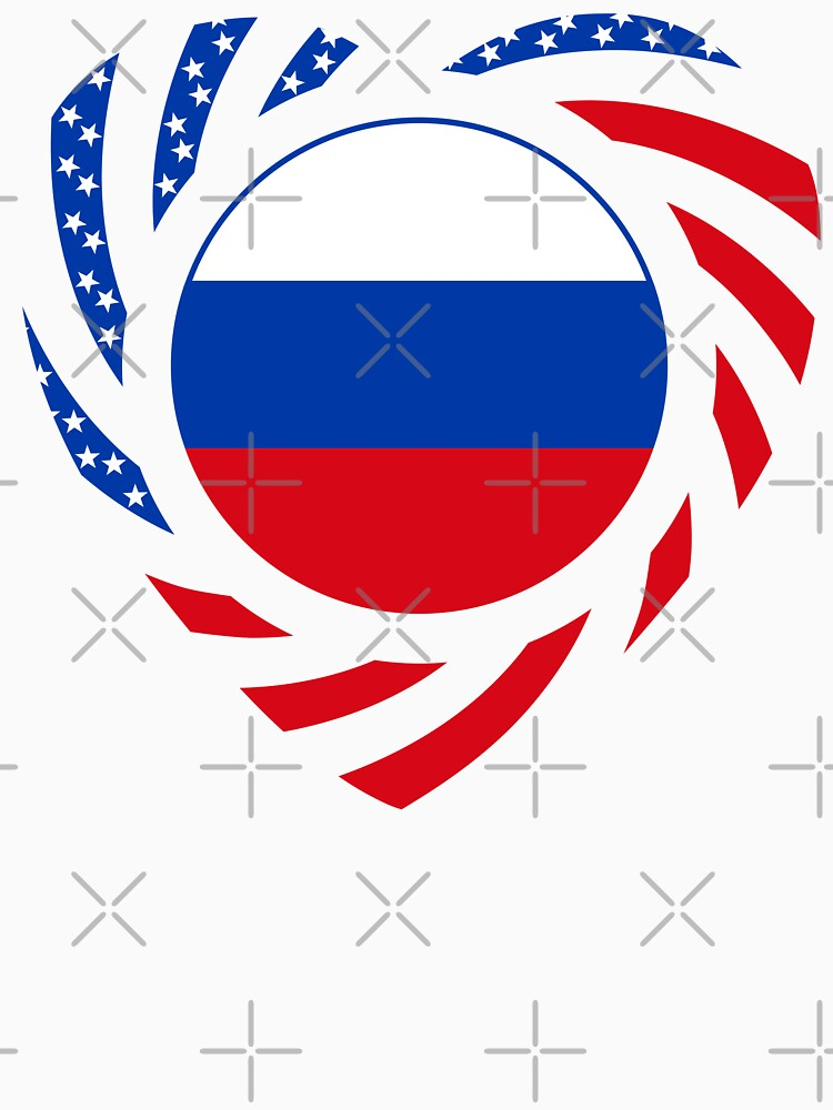 Russian American Multinational Patriot Flag Series 2.0 by carbonfibreme