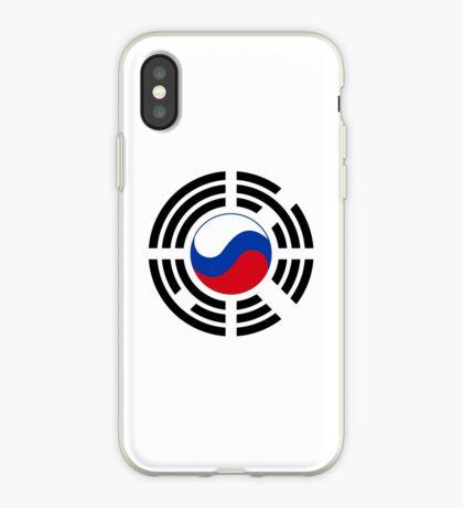 Korean Russian Multinational Patriot Flag Series iPhone Case