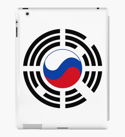 Korean Russian Multinational Patriot Flag Series iPad Case/Skin