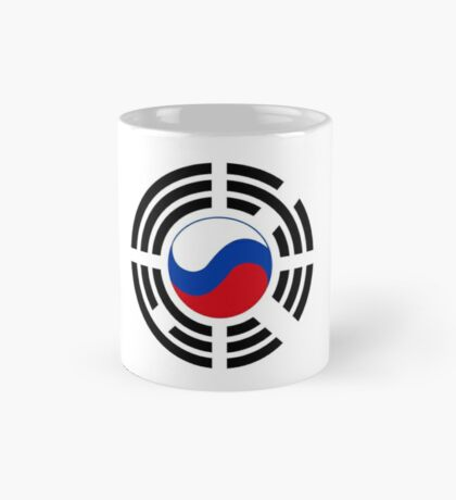 Korean Russian Multinational Patriot Flag Series Mug