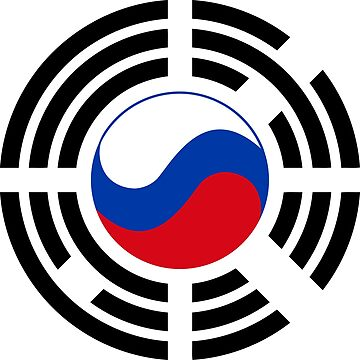 Korean Russian Multinational Patriot Flag Series by carbonfibreme