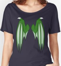 Dragon wings - green Women's Relaxed Fit T-Shirt