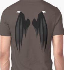 Dragon wings - black Unisex T-Shirt