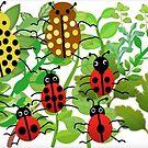 Ladybirds by Mrs Foxy