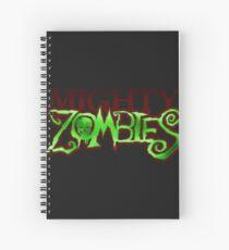 MightyZombies Logo Spiral Notebook