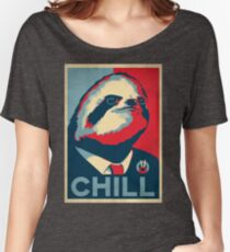 Vote Sloth Women's Relaxed Fit T-Shirt