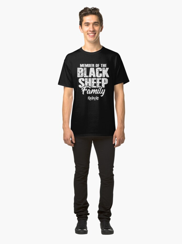 Alternate view of Member of the Black Sheep Family Classic T-Shirt