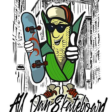 All Day skateboard by matches1