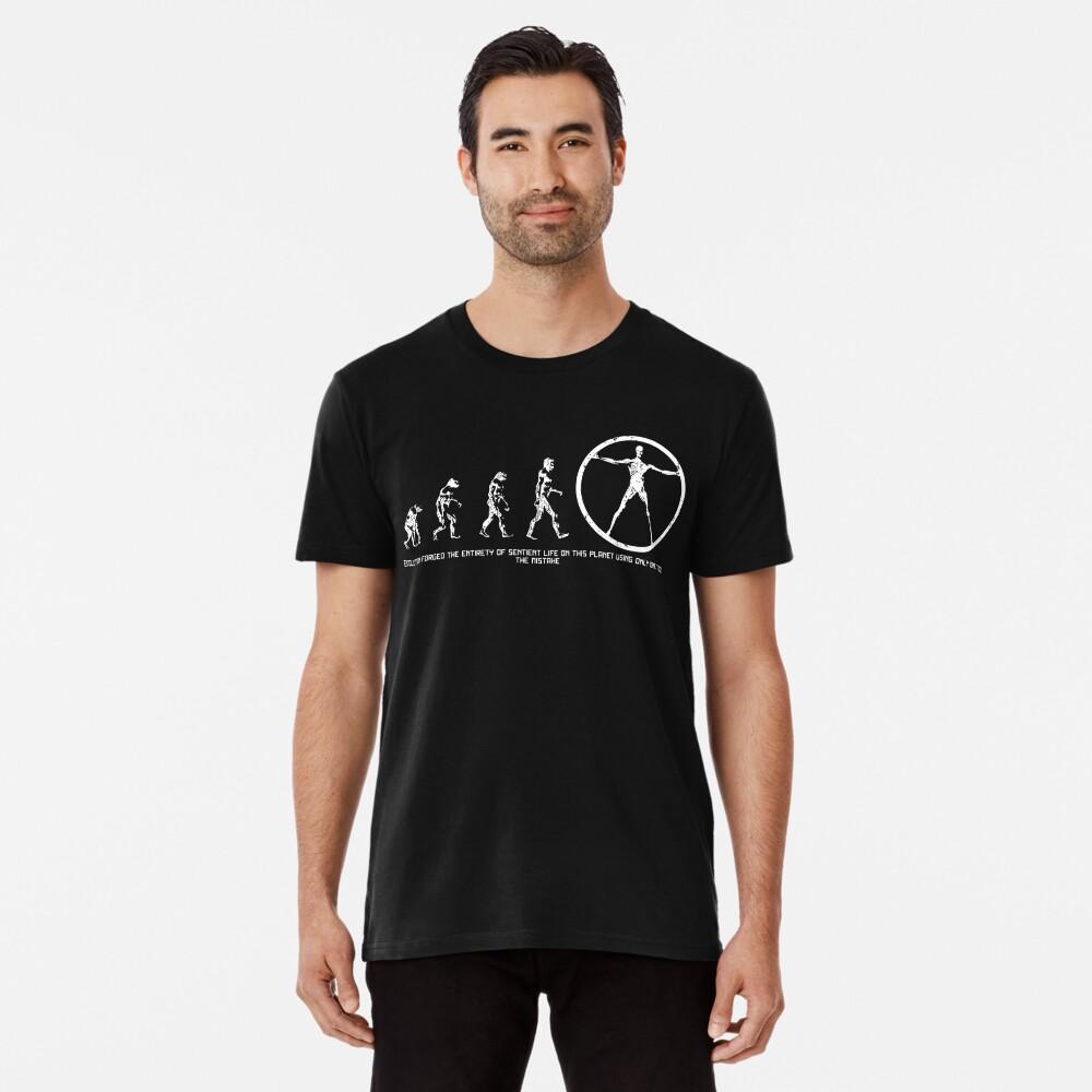 Entwicklung von Westworld Premium T-Shirt