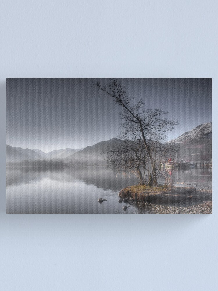 Alternate view of Winters Morning Canvas Print