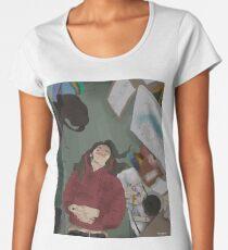 French Girl Women's Premium T-Shirt