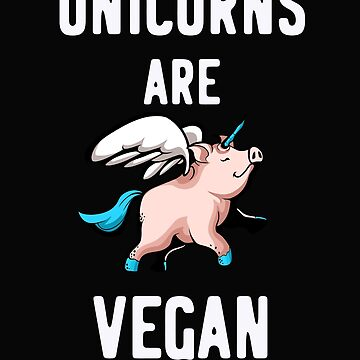 Vegan, unicorn by Britta75