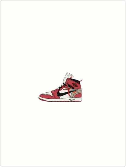 e00c4d8d34e755 Off-White Jordan 1 Red
