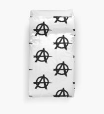 Anarchy by Chillee Wilson Duvet Cover