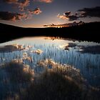 sunset on pronie loch by codaimages