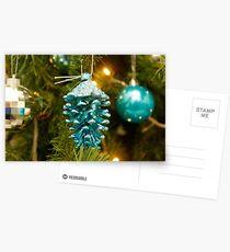 Adornos Navidad Postcards
