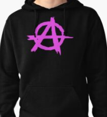 Anarchy by Chillee Wilson Pullover Hoodie