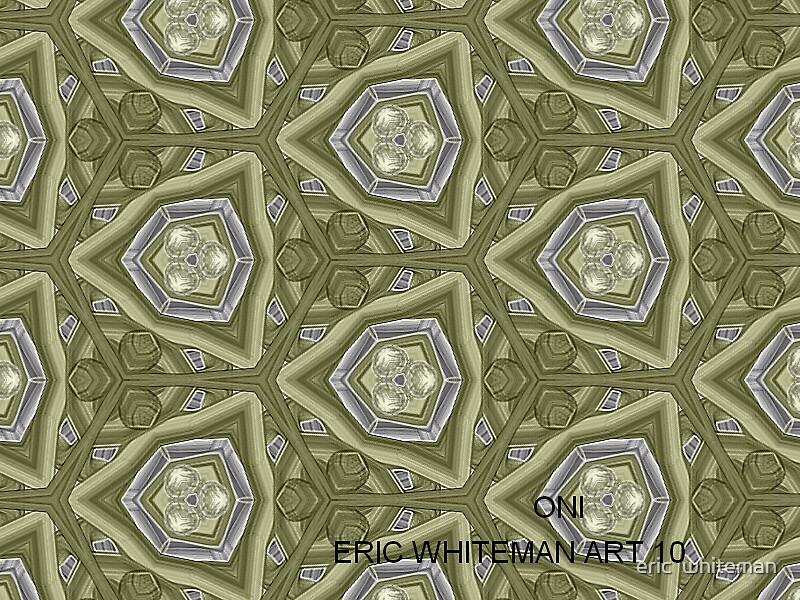 ( ONI )  ERIC  WHITEMAN  ART  by eric  whiteman