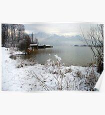 Lake Kochelsee Winter 2009/10 Poster