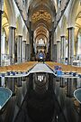 Salisbury Cathedral Interior by Peter Lusby Taylor