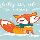 Fox (cold outside) by Mrs Foxy