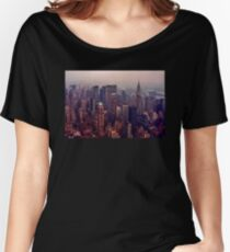 Weinlese New York Loose Fit T-Shirt