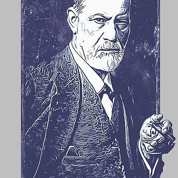 Sigmund Freud - Your Mom by CreativeSpero