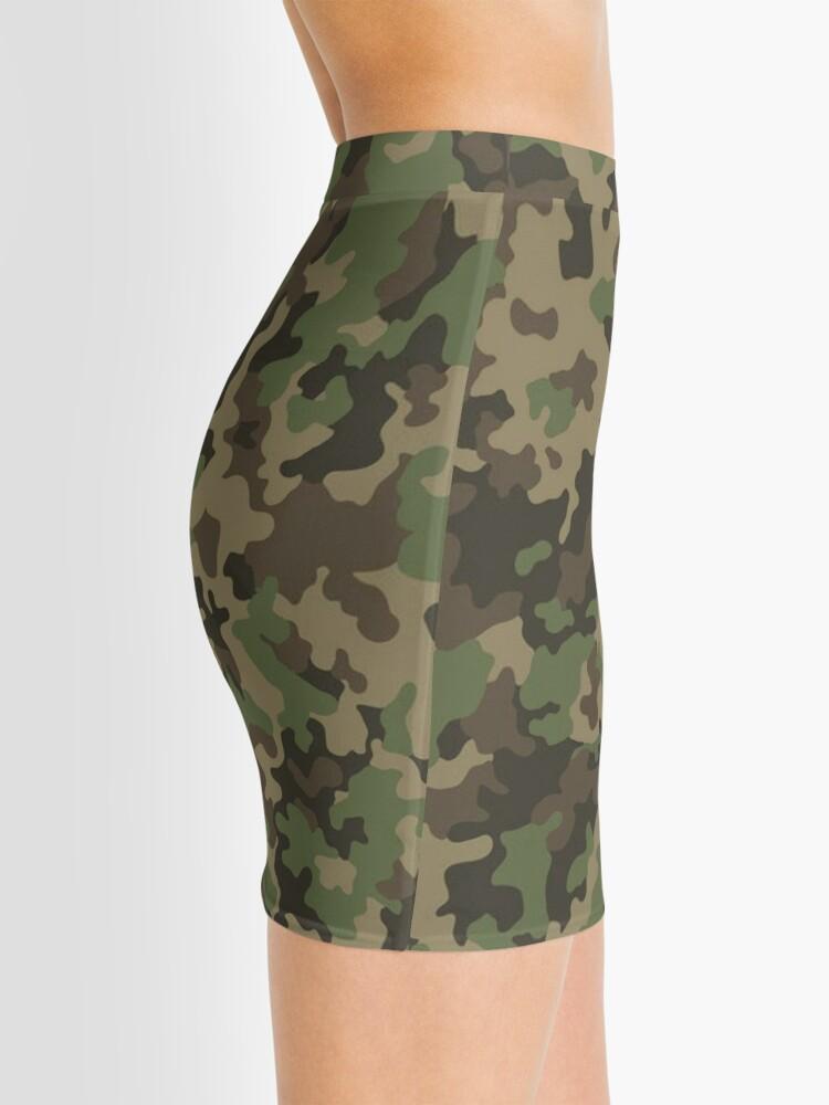 Vista alternativa de Minifalda Woodland Camo