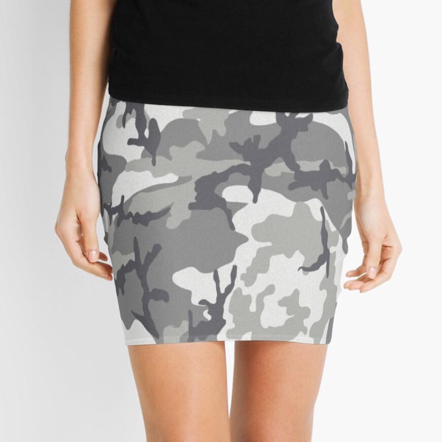 Camuflaje urbano Minifalda