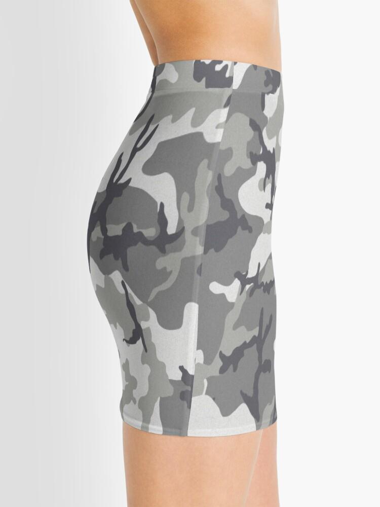 Vista alternativa de Minifalda Camuflaje urbano