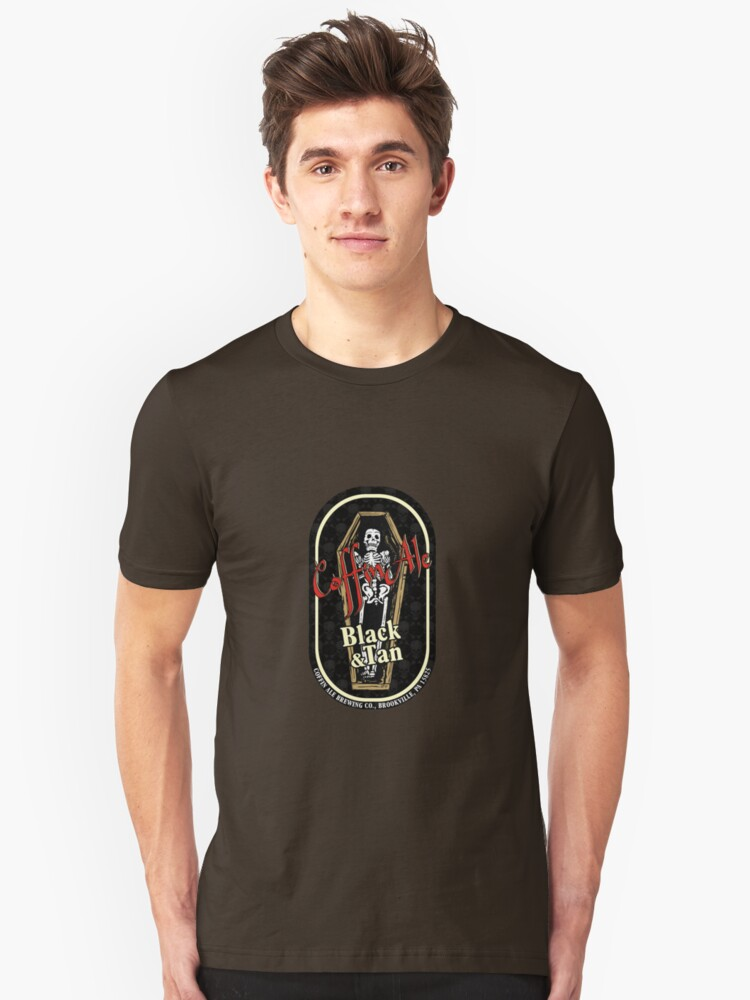 Coffin Ale TM Tee by ZugArt