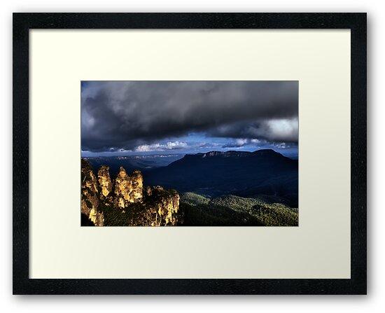 The Three Sisters Blue Mountains Katoomba - HDR by DavidIori