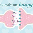 You Make Me Happy - Neuron Releasing Seratonin by DiAn & Gaius Augustus