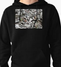 Concrete Abstract Pullover Hoodie