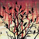 Murder of Crows by shahuskies
