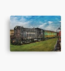 Train - Baldwin Locomotive Works Canvas Print