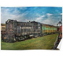 Train - Baldwin Locomotive Works Poster