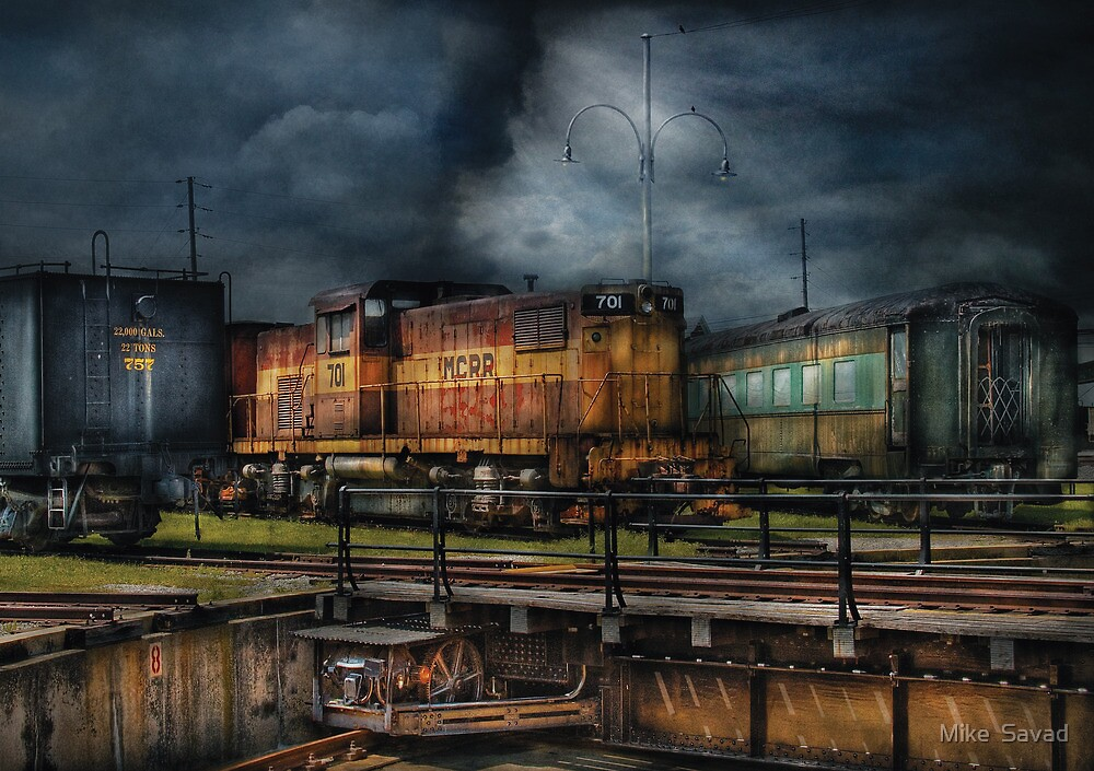 Train - Let's go for a spin by Mike  Savad